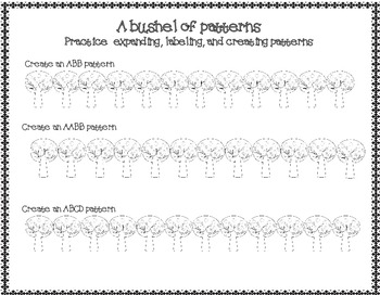 a bushel of patterns