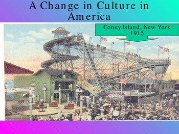 a change in culture in America