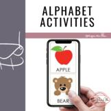 a - e Letters Alphabet Class - ESL Students