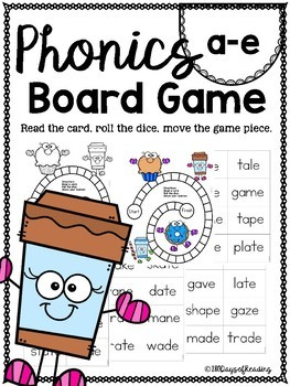a-e PHONICS BOARD Game