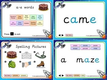 a-e (split digraph) PowerPoint