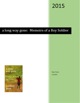 a long way gone:  Memoirs of a Boy Soldier Discussion Log