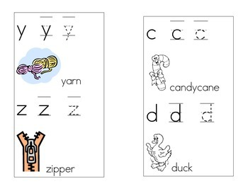 a lower case abc book