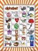 a rainbow of alphabet charts