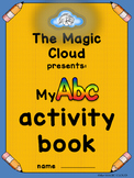 a to z activity book, letters tracing,printing, recognitio
