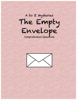 a to z mysteries: The Empty Envelope comprehension questions