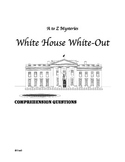 a to z mysteries white house white out comprehension questions