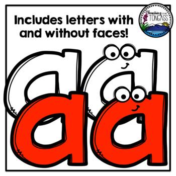 A Z Lowercase Letters Clipart Alphabet Clipart