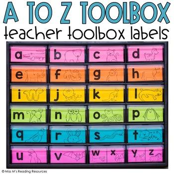 a-z Teacher Toolbox Labels {Animal Alphabet}