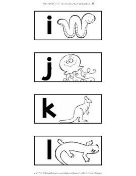 Teacher Toolbox Labels {Animal Alphabet}