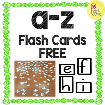 a-z flash cards FREE!