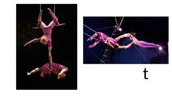 power point a- z circus theme