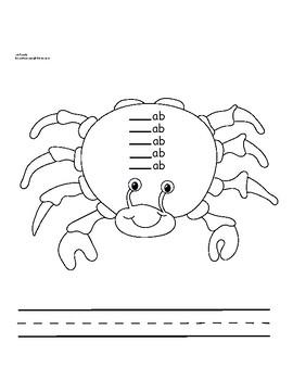 ab Family Crab Rhyme