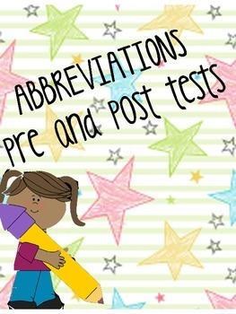 abbreviations test sg