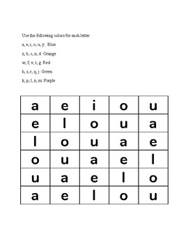 abc Coloring (Lowercase alphabet)