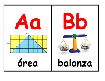 abc math in spanish