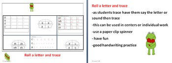abc roll and trace