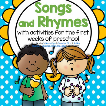 Back to School Songs and Rhymes with Activities Preschool