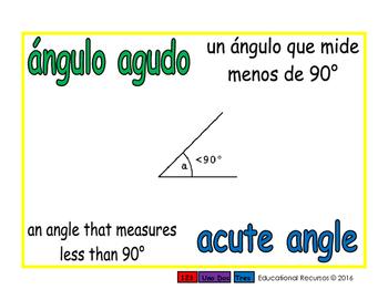 acute angle/angulo agudo geom 1-way blue/verde