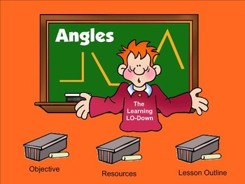 acute, obtuse and right angles smartboard lesson