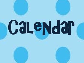 adapted calendar