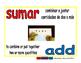 add/sumar prim 1-way blue/rojo