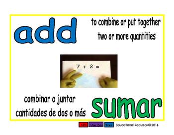 add/sumar prim 1-way blue/verde