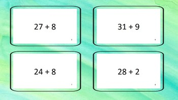 add with sums to 50 with regrouping