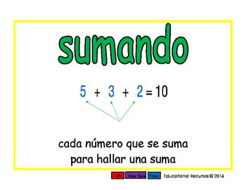addend/sumando prim 2-way blue/verde