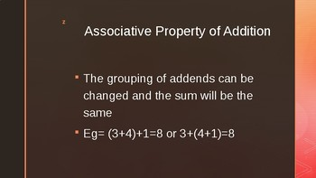 addition and substraction