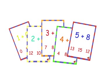 addition card number 1 / cartes d'additions 1