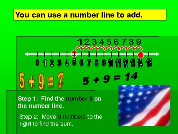 addition of whole numbers