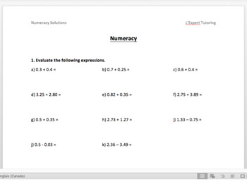 addition,subtraction,multiplication,division of Integers,Fractions and Decimals