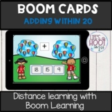 addition within 20 BOOM CARDS digital resource