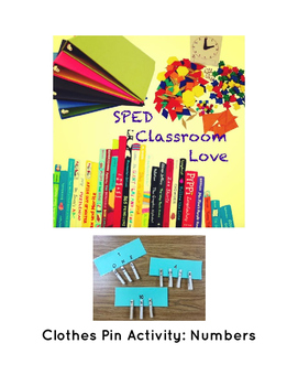 Task Box Activity: Numbers
