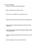 Reading Quest: Ch. 19 Lesson 1 World History Patterns of Interaction
