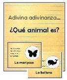 adivinanzas de animales vocabulario - animals riddles spanish