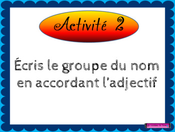 Adjectif (notion PowerPoint)