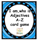 adjectives A-Z I am, who is card game