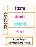 adjectives interactive notebook flipbook