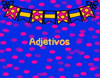 adjectives taskcard spanish