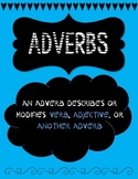 adverb poster