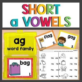 ag Word Family Phonics Pack