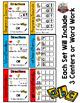 ag Word Family: Intervention, Homework, Morning Work, Centers,