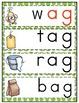 'ag' Word Family Word Work