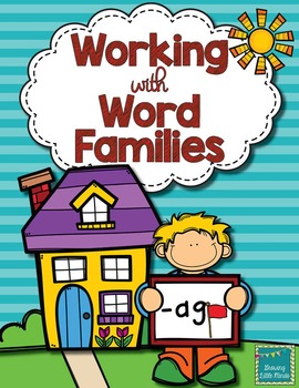 Word Family activities- ag