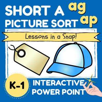 SHORT A PICTURE SORT ag ap