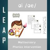 AI - Long Vowel A - No Prep Phonics