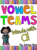 ai Vowel Team Print and Go Printables