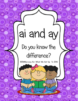 ai and ay: Do You Know the Difference?